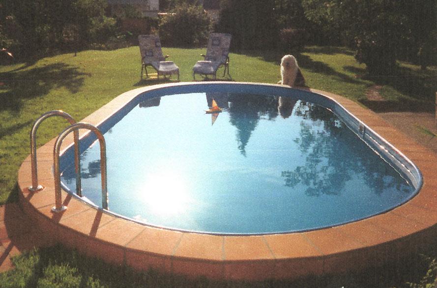 Stahlwandbecken: Schwimmbecken Mit Persönlicher Note Für